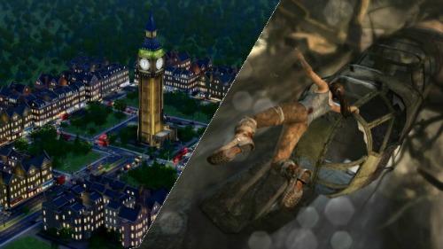SimCity vs. Tomb Raider: Brutal Honesty