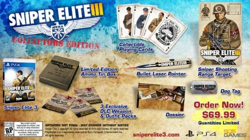 Rebellion Announces Release Date And Bonuses For Sniper Elite 3
