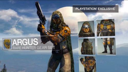 Destiny Exclusives ARGUS