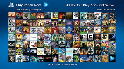 Sony Details Playstation Now Subscription Details