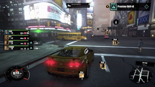 Accessibility Preview – The Crew