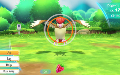 Accessibility Game Review – Pokémon Let's Go!