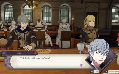 Accessibility Game Review – Fire Emblem: Three Houses