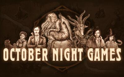 Indie Spotlight – October Night Games