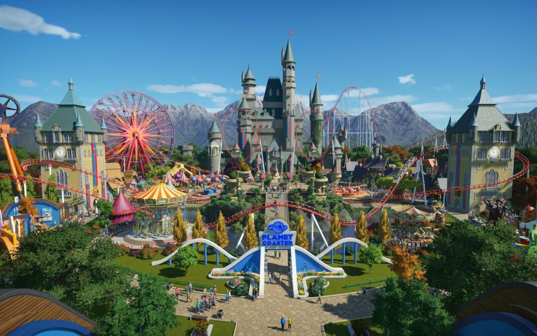 Accessibility Game Review – Planet Coaster
