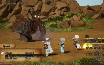 Accessibility Game Review – Bravely Default II