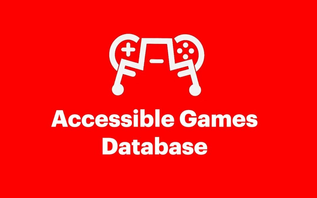 Letter From The Editor – Accessible Games Database Launching Oct. 1