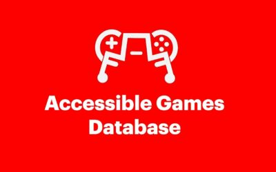 Introducing: The Accessible Games Database