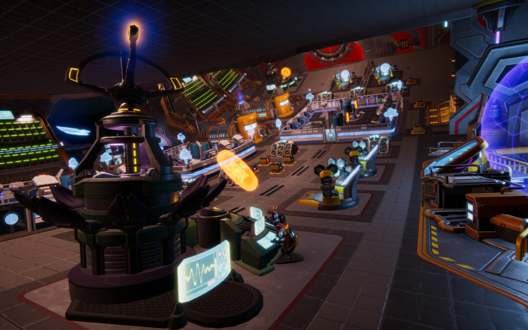 Accessibility Game Review – Spacebase Startopia